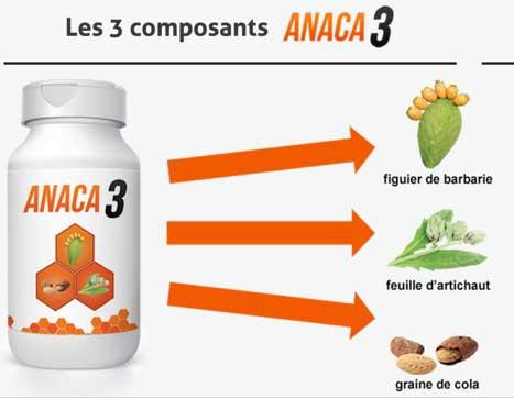 Ingrédients Anaca3
